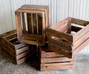 Fruit crates similar to ours